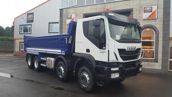 2019 Iveco Trakker 410bhp 8x4 Tipper