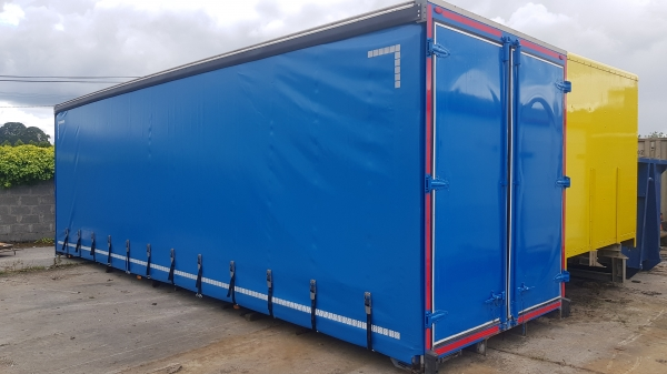 Used Curtainside body