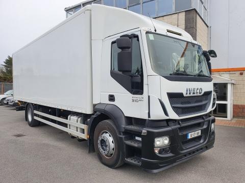 2014 Iveco Stralis 310bhp 4x2 Box & Tail lift