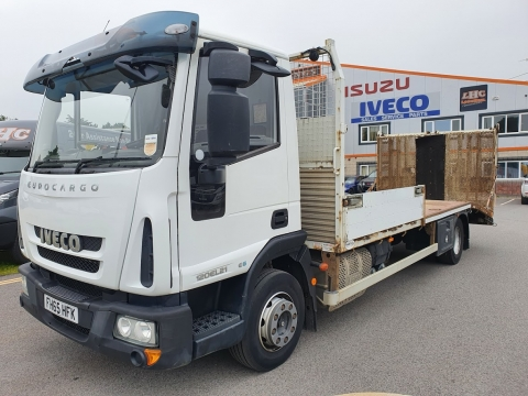 2016 IVECO Eurocargo 120E21 Bevertail Plant Body
