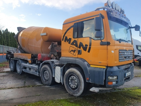 2008 MAN 32.400 8x4 Mixer Conveyor
