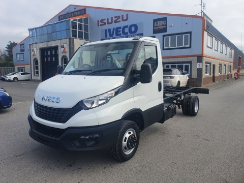 2021 Iveco Daily 35C16 3.0 3.5 tonTwin Wheel Chassis Cab