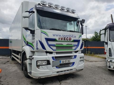 2013 Iveco Stralis 310bhp 4x2 18 ton GVW on air