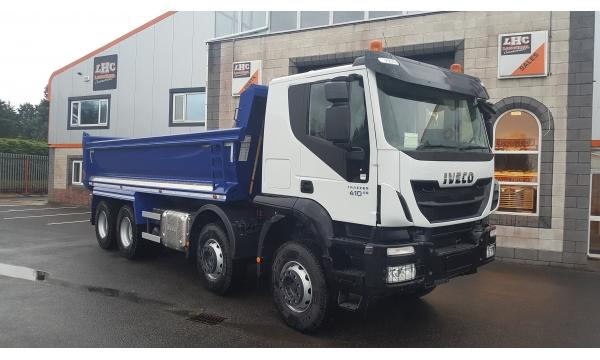2018 Iveco Trakker 410bhp 8x4 Tipper