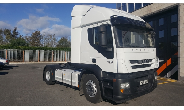 2012 Iveco Straliis Active Time 450bhp 4x2 Tractor