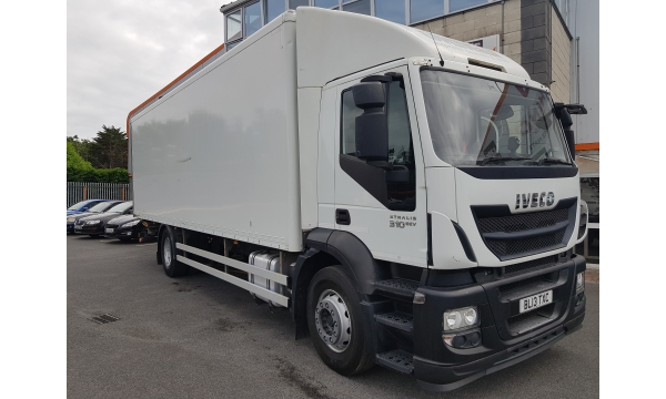 2014 Iveco Stralis 310bhp 4x2 Box & Tail lift