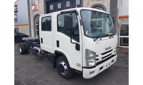 New Isuzu N Series N75.190 Auto Crewcab 7.5 ton