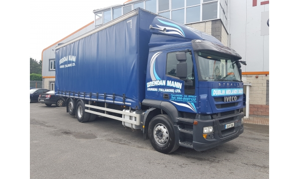 2010 Iveco Stralis 330bhp 4x2 Curtain