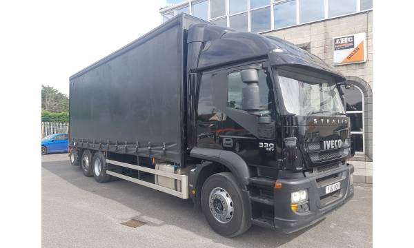 2012 Iveco Stralis 330bhp 4x2 curtainside