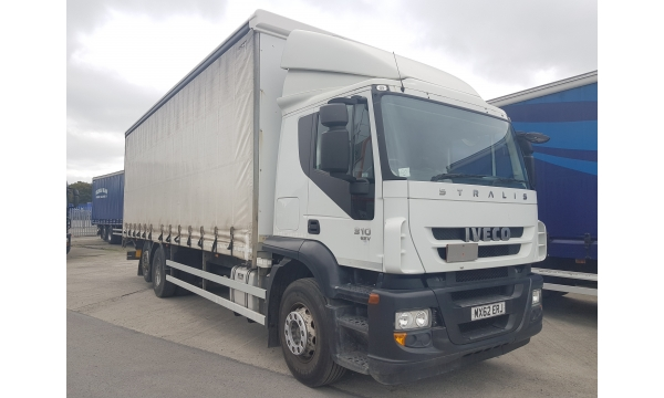 2012 Iveco Stralis 310bhp 6x2 Curtainside