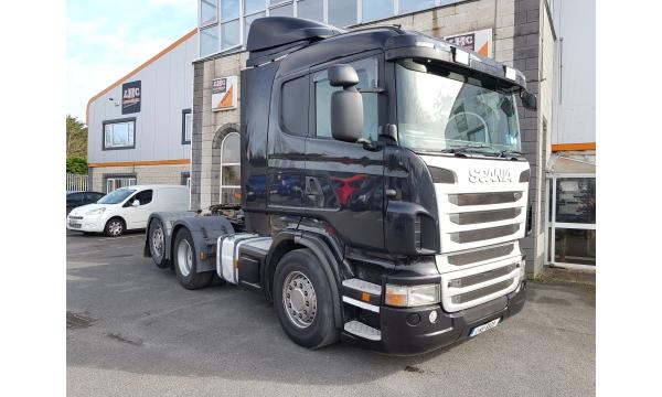 2011 Scania R480 6x2 Tag
